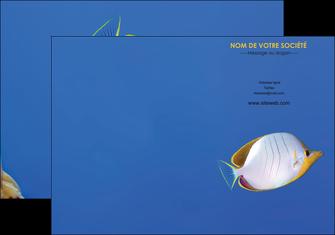faire pochette a rabat poisson et crustace poissons mer ocean MIF38871