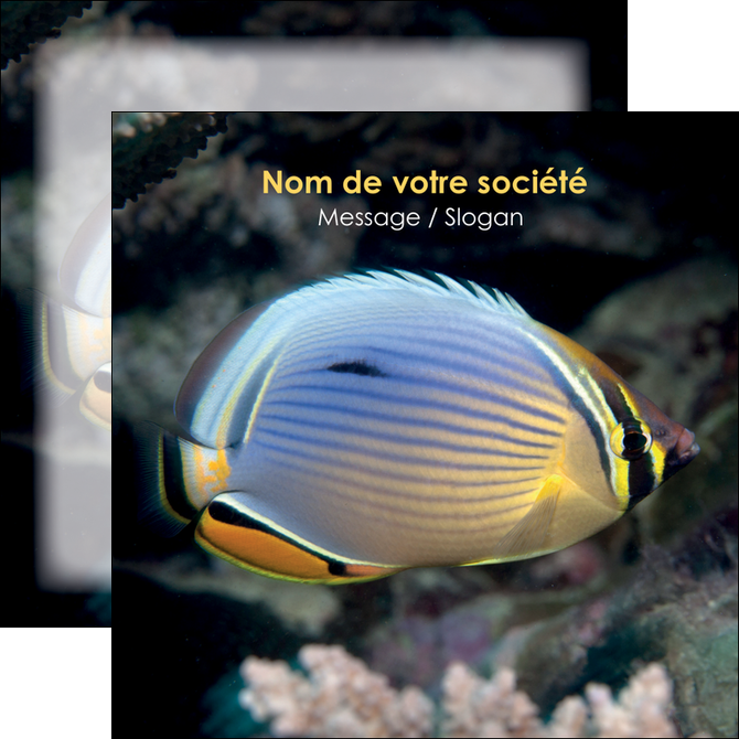 exemple flyers animal poisson animal nature MLGI38925