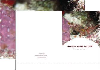 imprimer pochette a rabat poisson et crustace crevette crustace animal MIS39023