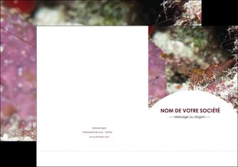 imprimer pochette a rabat poisson et crustace crevette crustace animal MIF39023