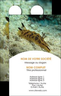personnaliser maquette carte de visite animal crevette crustace animal MIF40127