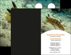 impression carte de visite animal crevette crustace animal MIF40141
