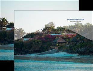 personnaliser maquette pochette a rabat agence immobiliere maison sur plage immobilier immobilier de luxe MIS40283