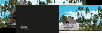 creer modele en ligne carte de visite agence immobiliere maison maison sur la plage lotissement MIS40587