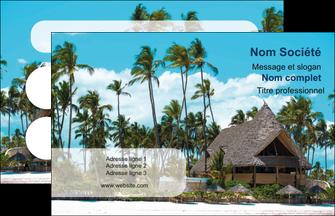 exemple carte de visite agence immobiliere maison maison sur la plage lotissement MIS40589