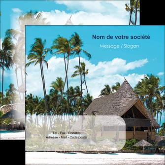 imprimer flyers agence immobiliere maison maison sur la plage lotissement MIS40609