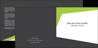 personnaliser maquette depliant 2 volets  4 pages  texture contexture structure MIF41177