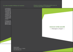 personnaliser maquette depliant 2 volets  4 pages  texture contexture structure MIF41201