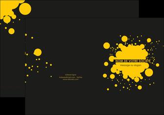 creer modele en ligne pochette a rabat abstrait art artistique MLIG41499