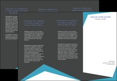 modele depliant 3 volets  6 pages  abstrait design texture MIS41577