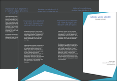 modele depliant 3 volets  6 pages  abstrait design texture MLIG41577