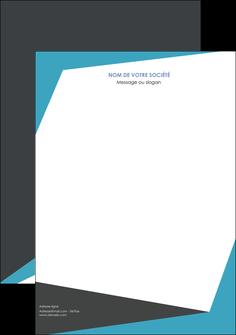 modele en ligne tete de lettre abstrait design texture MIS41581