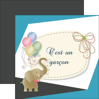 personnaliser maquette flyers elephant ballons noeud MLIG41679