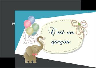 imprimer flyers elephant ballons noeud MLIG41687