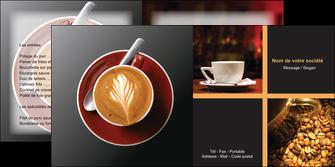 realiser depliant 2 volets  4 pages  bar et cafe et pub bar cafe pub MLIG41819