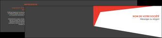 exemple depliant 2 volets  4 pages  rouge noir moderne MLGI41849