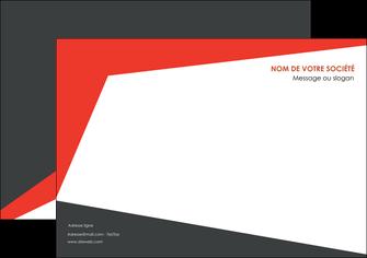 modele en ligne affiche rouge noir moderne MLGI41861