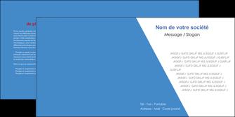 personnaliser modele de depliant 2 volets  4 pages  texture contexture structure MIF42079