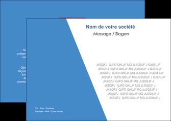 Impression prospectus online  papier à prix discount et format Flyer A5 - Paysage (21x14,8 cm)