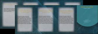 creer modele en ligne depliant 4 volets  8 pages  texture contexture structure MLGI42327