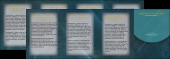modele depliant 4 volets  8 pages  texture contexture structure MLGI42337