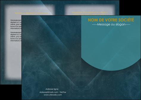realiser depliant 2 volets  4 pages  texture contexture structure MLGI42339