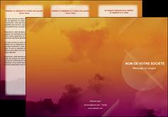 creation graphique en ligne depliant 3 volets  6 pages  lune pleine lune tableau pleine lune MLIP42427