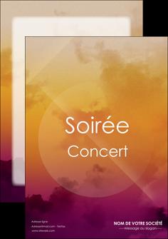 Modele Exemples Maquette Graphique D Affiche Concert Et Soiree A
