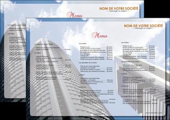 modele set de table agence immobiliere immeuble gratte ciel immobilier MLGI42551