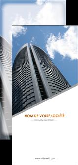 modele en ligne flyers agence immobiliere immeuble gratte ciel immobilier MLGI42553