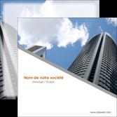 creer modele en ligne flyers agence immobiliere immeuble gratte ciel immobilier MLGI42565