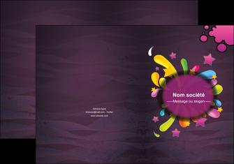 faire modele a imprimer pochette a rabat texture contexture structure MLGI42615
