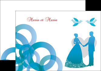 faire flyers mariage noces union MIS42825