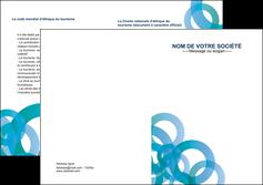 faire depliant 2 volets  4 pages  texture contexture structure MIF42853