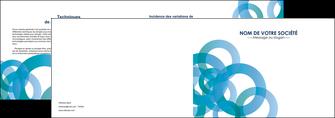 exemple depliant 2 volets  4 pages  texture contexture structure MIF42863