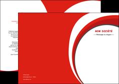 modele en ligne depliant 2 volets  4 pages  texture contexture structure MIF42957