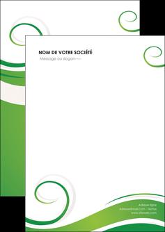 impression flyers fleuriste et jardinage texture structure design MIF43655