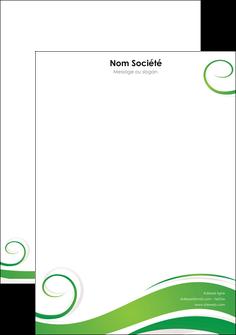 Impression Papier entête de lettre Fleuriste & Jardinage devis d'imprimeur publicitaire professionnel Tête de lettre A4