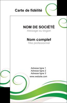personnaliser maquette carte de visite fleuriste et jardinage texture structure design MIF43669