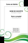 personnaliser maquette carte de visite fleuriste et jardinage texture structure design MLIP43669