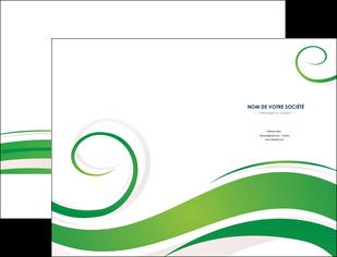 imprimerie pochette a rabat fleuriste et jardinage texture structure design MIF43671