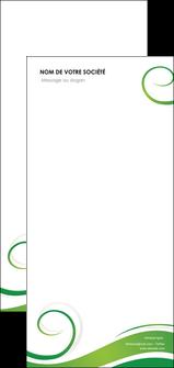 faire flyers fleuriste et jardinage texture structure design MIF43695