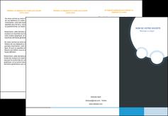 Commander Plaquette publicitaire  papier publicitaire et imprimerie Dépliant 6 pages pli accordéon DL - Portrait (10x21cm lorsque fermé)
