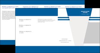 personnaliser modele de depliant 4 volets  8 pages  texture structure courbes MLGI43845