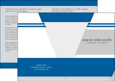 exemple depliant 2 volets  4 pages  texture structure courbes MLIG43853