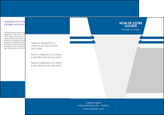creer modele en ligne depliant 3 volets  6 pages  texture structure courbes MLGI43861