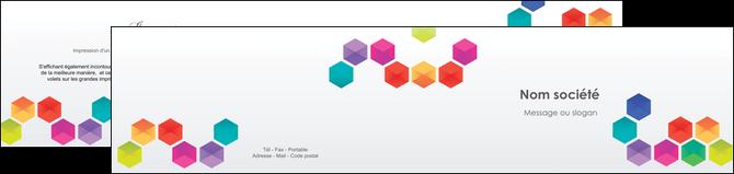 imprimerie depliant 2 volets  4 pages  texture structure design MLGI44107