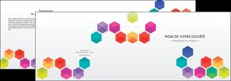 modele depliant 2 volets  4 pages  texture structure design MIF44137