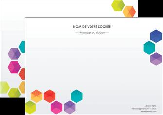 faire modele a imprimer flyers texture structure design MIF44139