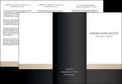 faire depliant 3 volets  6 pages  texture contexture structure MLGI44229